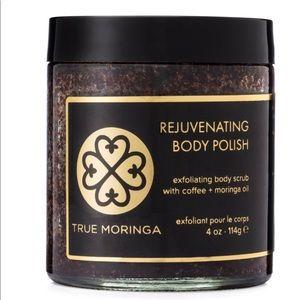 Brand new True Moringa rejuvenating body polish